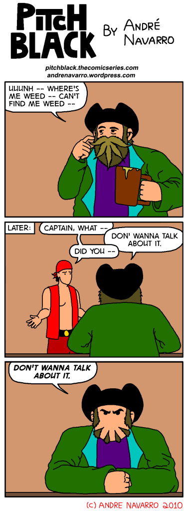 Captain Hempbeard And The Misplacement Of Weed